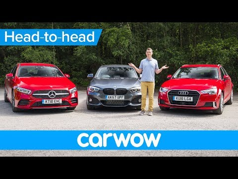 Mercedes A Class vs BMW 1 Series vs Audi A3 2019 review which is the best premium small car