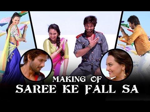 Xxx Mp4 Making Of Saree Ke Fall Sa R Rajkumar Sonakshi Sinha Shahid Kapoor 3gp Sex