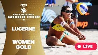 Lucerne - 2018 FIVB Beach Volleyball World Tour - Women Gold Medal Match