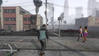 Trevor harassing people in the hood