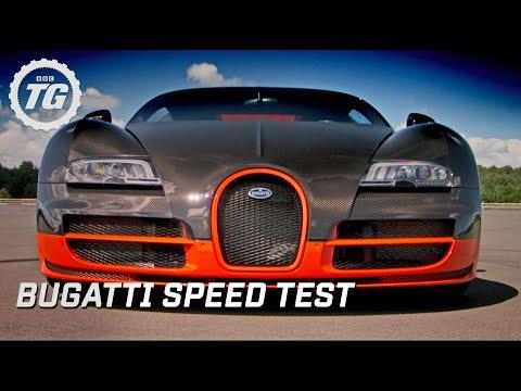 Bugatti Super Sport Speed Test Top Gear BBC