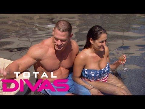 Take a tour of John Cena s house Total Divas Aug. 4 2013