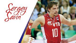 SERGEY SAVIN SPIKES ● лучший спайкер | Lokomotiv Novosibirk | CEV 2017