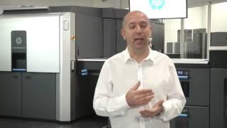 HP Indigo 10000 Dijital Ofset Baskı Makinesi Tanıtımı