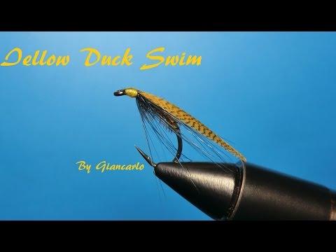 YELLOW DUCK SWIM By Giancarlo
