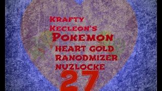 Pokemon Heart Gold Randomizer Nuzlocke Episode  27: Then he beat the gym