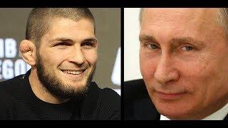 Khabib Nurmagomedov Got a Call From Russian President Vladimir Putin  (UFC 229)