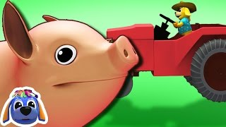 Farmer In The Dell | Nursery Rhymes | Kids Songs | Raggs TV