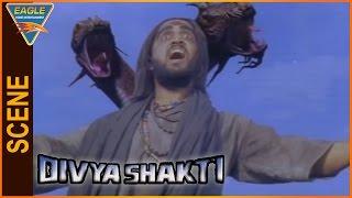 Divya Shakti (Trinetram) Hindi Dubbed Movie || Villan Best Scene || Eagle Hindi Movies