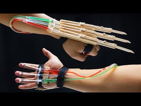 Xxx Mp4 X MEN WOLVERINE Claws Fully Automatic DIY Tutorial Popsicle Sticks 3gp Sex