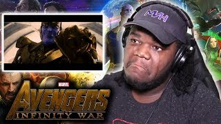 I CRIED! Avengers: Infinity War Trailer - (Justice League Style) : REACTION!
