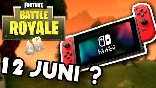 Fortnite SWITCH KOMMT AM 12 JUNI ??? - E3 Leaks