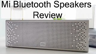 Xiaomi Mi Bluetooth Speakers Unboxing & Review With Audio Test