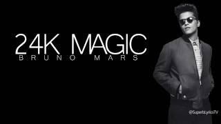 Bruno Mars  24k Magic  Lyrics