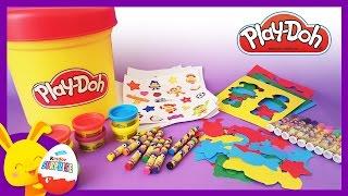 Play-doh - Pâte à modeler - Maxi pot SURPRISE pour les enfants - Touni Toys