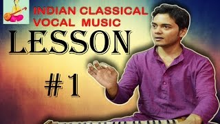 Learn+Indian+classical+music+vocal+singing+Lesson+%231+Know+scales+and+play+Harmonium