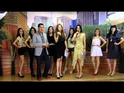Nallely Castelan presenta pasarela Guess Primavera 2014 models mexico