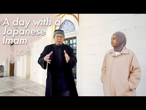 A day with Japanese Imam Ahmad Maeno