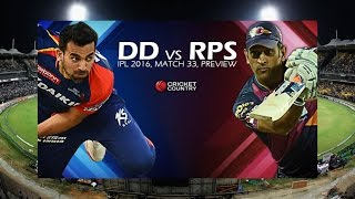 RPS Vs DD   Delhi Daredevils Now Face Rising Pune Supergiants in Vizag   Mango News