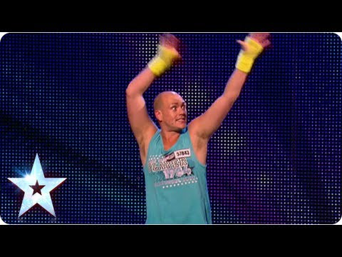 DJ Sexy Scott gets everyone Funkasised Week 4 Auditions Britain s Got Talent 2013