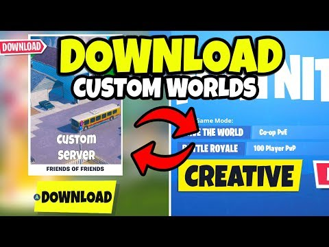 Xxx Mp4 How To Download Fortnite Creative Mode Custom Server World Maps 3gp Sex