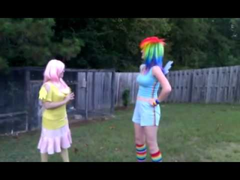 MLP Cosplay Video Fluttershy s Cheer