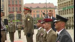 Promocja oficerska w Wyższej Szkole Wojsk Lądowych we Wrocławiu