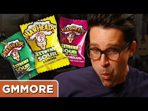 Eating 19 Warheads At Once Challenge