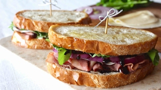 Roast Beef Sandwiches by Rommy