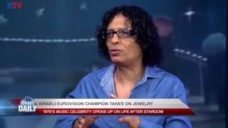Izhar Cohen, Israeli star singer and jewelry designer – Aug. 10, 2017