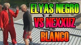 GTA V ONLINE   ELYAS EL NEGRO CONTRA NEXXUZ EL BLANCO xD   Josemi