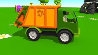Camión de basura - Carros para niños - Leo la Troca Curiosa