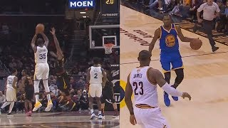 Kevin Durant Silences Entire Cavs Crowd With The Same Shot For 2 Years Straight!