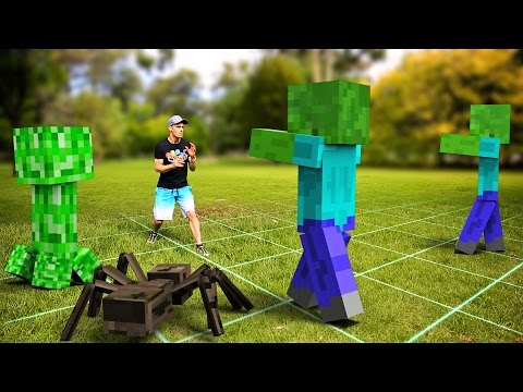 Minecraft In Real Life Future Gaming
