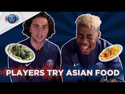 Xxx Mp4 PARIS SAINT GERMAIN PLAYERS TRY ASIAN FOOD 3gp Sex