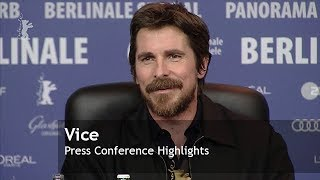 Vice | Press Conference | Berlinale 2019
