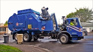 Garbage Trucks: On Route, In Action!