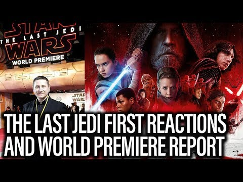 Xxx Mp4 Star Wars The Last Jedi First Reactions And World Premiere Report The John Campea Show 3gp Sex