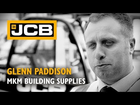 JCB Teletruk at MKM Building Supplies