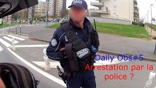 [Daily Observation 50cc#5] Arrestation Police, Feu rouge et des priorités !