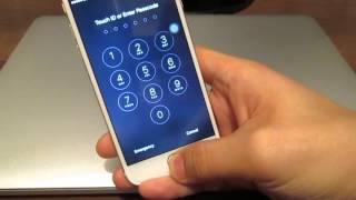 Как разблокировать пароль на iPhone