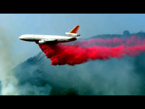 How Pink Goo Called Phos-Chek Is Saving California Homes From Wildfires