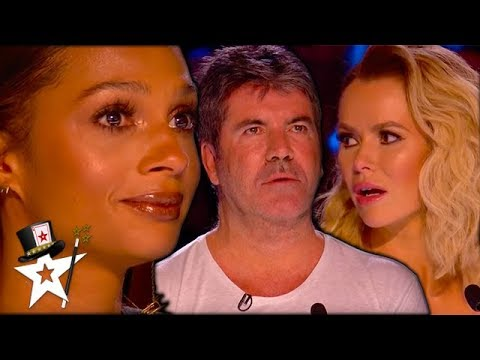 Unreal Magic Auditions That SHOCKED Simon Cowell Magicians Got Talent
