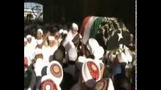 The funeral procession of Dr Syedna Mohammed Burhanuddin ( 18 Jan 2014 )