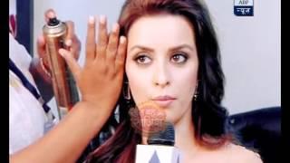 TV actresses give away make-up tips on the sets of Star Pariwar Awards