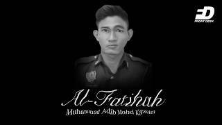 Front Desk: AL FATIHAH, ADIB MENINGGAL DUNIA