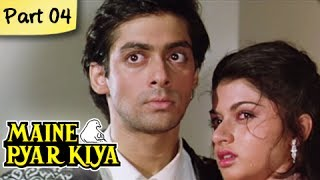 Maine Pyar Kiya (HD) - Part 04/13 - Blockbuster Romantic Hit Hindi Movie - Salman Khan, Bhagyashree