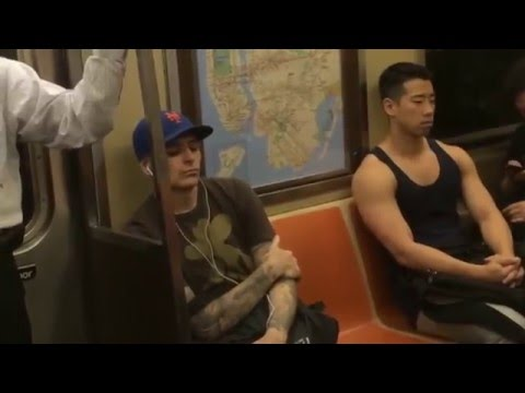 Xxx Mp4 Hot Asian Dude On The NYC Subway 3gp Sex