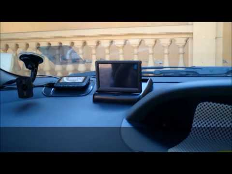How to install Foldable TFT Color LCD Car Reverse Rearview