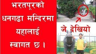 भरतपुरको धनगढा मन्दिर पुग्दा जे देखियो